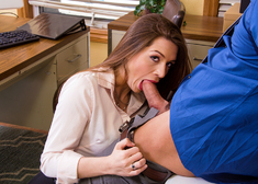Veronica Vain & Johnny Castle in Naughty Office - Centerfold