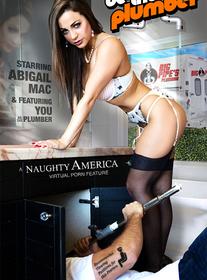 Abigail Mac centerfold