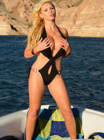 Nikki Benz centerfold