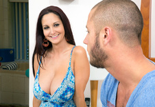 Ava Addams blowjob