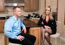 Brandi Love:MILF, Stranger, Chair, Dining Room, 69, American, Ass licking, Athletic Body, Big Dick, Blonde, Blow Job, Bubble Butt, Caucasian, Cum in Mouth, High Heels, Mature, MILFs, Outie Pussy, Stockings, Trimmed