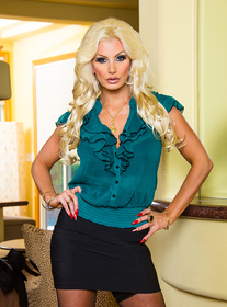 Brittany Andrews centerfold