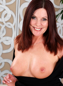 Magdalene St. Michaels:Client, Cougar, Friend, MILF, Couch, Hallway, Living room, Big Tits, Blow Job, Brunette, Fake Tits, High Heels, Mature, MILFs, Swallowing