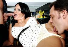 Maya Divine #2:Cougar, MILF, Stranger, Public Place, Big Ass, Big Fake Tits, Brunette, Curvy, MILFs, Piercings
