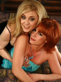 Nina Hartley & Calliste in Seduced by a cougar - Centerfold