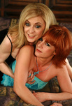 Nina Hartley & Calliste - Nina Hartley & Calliste in Seduced by a Cougar: Boss, Cougar, MILF, Bedroom, BGG, Big Natural Tits, Blonde, MILFs, Petite, Red Head, Shaved, Small Tits, Stockings, Threesome