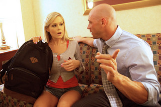 Darcy Tyler & Johnny Sins in College Sugar Babes - College Sugar Babes - Sex Position #2