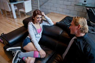 Lexi Bloom & Anthony Hardwood in College Sugar Babes - College Sugar Babes - Sex Position #2