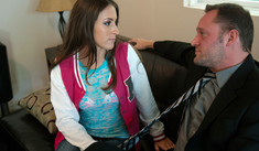 Lizz Tayler & Alec Knight in College Sugar Babes - College Sugar Babes - Sex Position #1