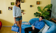 Tiffany Brookes & John Strong  in College Sugar Babes - College Sugar Babes - Sex Position #1