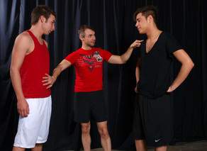 Aaron StylesDamon Audigier & Devon Hunter in Hot Jocks Nice Cocks - Suite703 - Sex Position #2