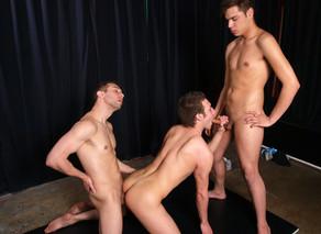 Aaron StylesDamon Audigier & Devon Hunter in Hot Jocks Nice Cocks - Suite703 - Sex Position #11