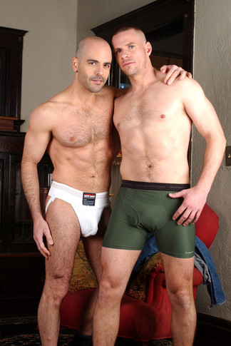 Adam Russo & Park Wiley in Hot Jocks Nice Cocks - Suite703 - Centerfold