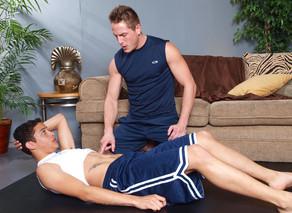 Brad Star & Lucas Vitello in Hot Jocks Nice Cocks - Suite703 - Sex Position #6