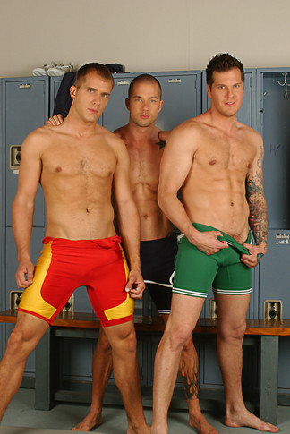 Brandon LewisParker London & Rod Daily in Hot Jocks Nice Cocks - Suite703 - Centerfold