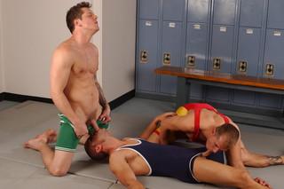Brandon LewisParker London & Rod Daily in Hot Jocks Nice Cocks - Suite703 - Sex Position #6
