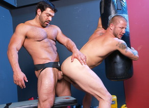Brenn Wyson & Vince Ferelli in Hot Jocks Nice Cocks - Suite703 - Sex Position #14