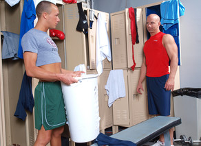 Brock Armstrong & Kirk Cummings in Hot Jocks Nice Cocks - Suite703 - Sex Position #5
