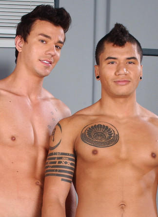 Dante Escobar & Seth Roberts in Hot Jocks Nice Cocks - Suite703 - Centerfold