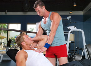 Gavin Waters & Rusty Stevens in Hot Jocks Nice Cocks - Suite703 - Sex Position #4
