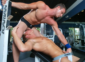 Gavin Waters & Rusty Stevens in Hot Jocks Nice Cocks - Suite703 - Sex Position #6