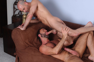 Adam Russo & Dodger Wolf in I'm a Married Man - Suite703 - Sex Position #11