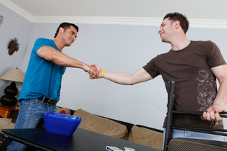 Alexsander Freitas & Kevin Cavallie in I'm a Married Man - Suite703 - Sex Position #1