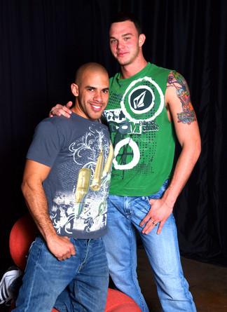 Austin Wilde & Cliff Jensen in I'm a Married Man - Suite703 - Centerfold