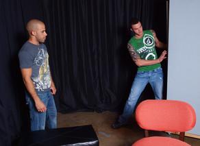 Austin Wilde & Cliff Jensen in I'm a Married Man - Suite703 - Sex Position #5