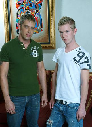 Bradley Michaels & Micah Matthews in I'm a Married Man - Suite703 - Centerfold
