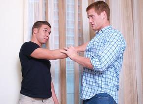 Damon Audigier & Micah Jones in I'm a Married Man - Suite703 - Sex Position #4