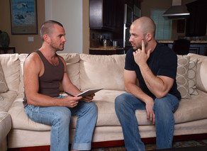 David Chase & Ethan Ayers in I'm a Married Man - Suite703 - Sex Position #5