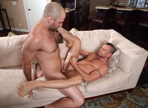 David Chase & Ethan Ayers in I'm a Married Man - Suite703 - Sex Position #14