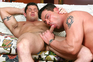 Josh Griffin & Rob Ramoni in I'm a Married Man - Suite703 - Sex Position #8