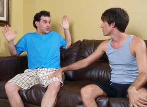 Kyle York & Parker Brookes in My Brothers Hot Friend - Suite703 - Sex Position #4