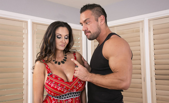 Ava Addams & Johnny Castle  in Mrs. Creampie 4k - Mrs. Creampie 4k - Sex Position #1