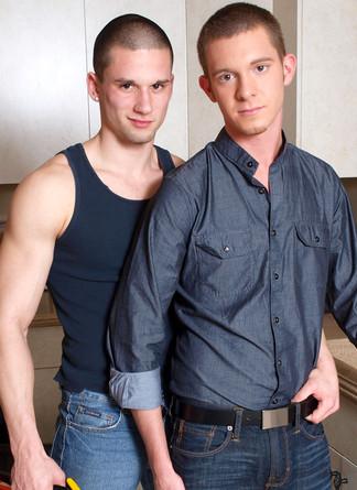 Anthony Romero & Jordan Foster in Men Hard at Work - Suite703 - Centerfold