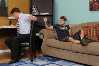 Brad Benton   & Tyler Johnson in Men Hard at Work - Suite703 - Sex Position #3