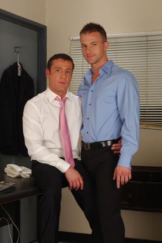 Cameron Adams & Trevor Knight in Men Hard at Work - Suite703 - Centerfold