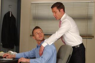 Cameron Adams & Trevor Knight in Men Hard at Work - Suite703 - Sex Position #3