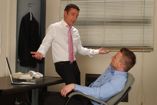 Cameron Adams & Trevor Knight in Men Hard at Work - Suite703 - Sex Position #4