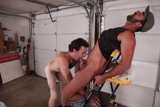 Chris Baldwin & Dodger Wolf in Men Hard at work - Suite 703 - Sex Position #7