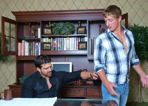 Landon Mycles & Vince Ferelli in Men Hard at Work - Suite703 - Sex Position #1