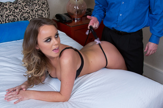 Alexis Adams & John Strong  in Tonight's Girlfriend - Tonight's Girlfriend - Sex Position #4