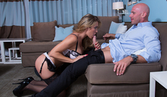 Capri Cavanni  & Johnny Sins - Tonight's Girlfriend - Sex Position #2