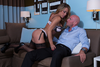 Capri Cavanni  & Johnny Sins in Tonight's Girlfriend - Tonight's Girlfriend - Sex Position #3