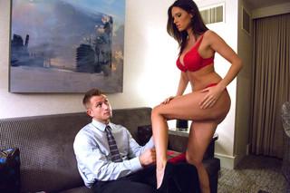 Jennifer Dark & Bill Bailey  in Tonight's Girlfriend - Tonight's Girlfriend - Sex Position #3