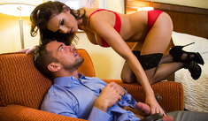 Jennifer Dark & Johnny Castle  - Tonight's Girlfriend - Sex Position #1