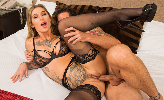 Kleio Valentien & Ryan Driller in Tonight's Girlfriend - Tonight's Girlfriend - Sex Position #3