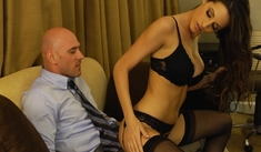Kortney Kane  & Johnny Sins - Tonight's Girlfriend - Sex Position #1